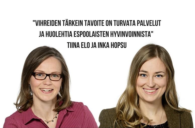 Tiina ja Inka
