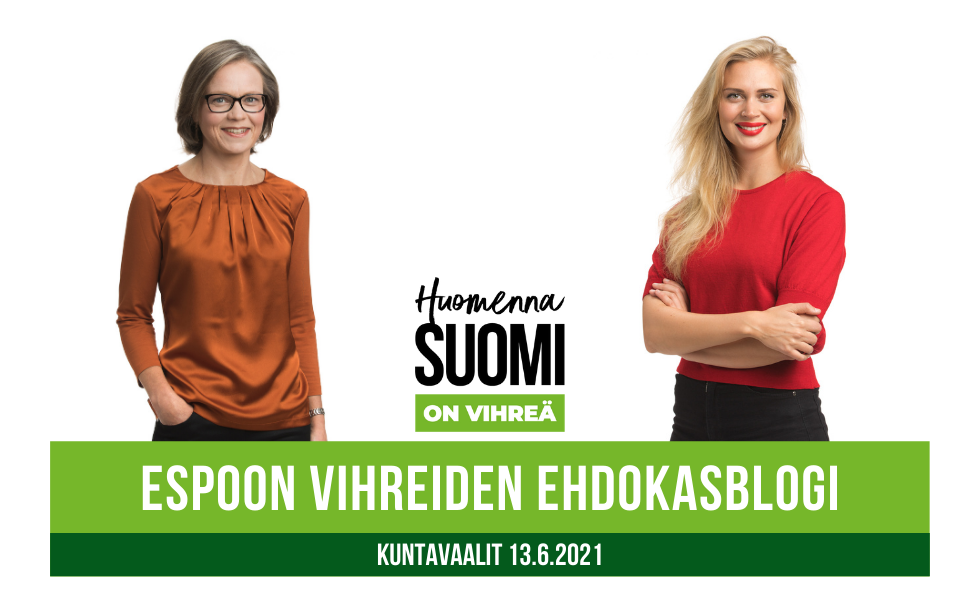 Tiina Elo ja Amanda Pasanen
